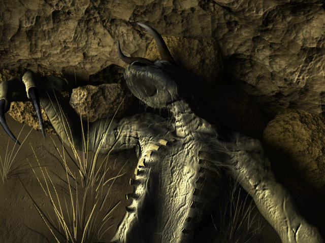 goris intelligent deathclaw